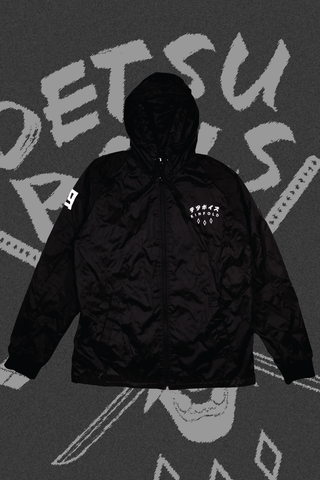 DETSU BOYS ZIP-UP HOODED JACKET