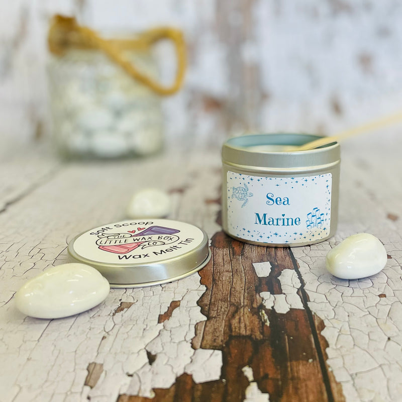 Sea Marine Soft Scoop Wax Melt Tin