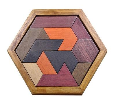 tangram hexagonal