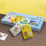 Cartes Bicycle <br/> Line Friends