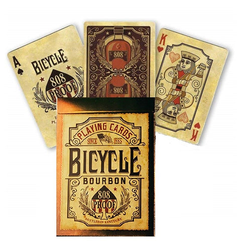 cartes bicycle bourbon 808 proof