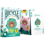 bicycle Line friends jungle brown