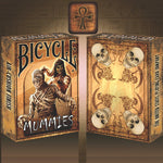 jeu de cartes bicycle mummies
