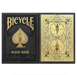 Cartes Bicycle <br/> Rider Back Noir et Or