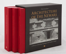Load image into Gallery viewer, ARCHITECTURE OF THE NEWARS: A History of Building Typologies and Details in Nepal (3 Volumes) by Neils Gutschow