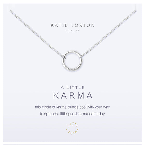 A Little Karma Necklace - Annie's Hallmark Baldoria