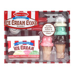 Melissa & Doug : Scoop & Stack Ice Cream Cone Playset