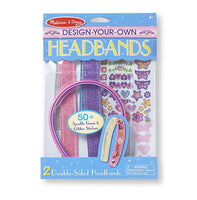 Melissa & Doug : Created by Me! Headbands Design and Decorate Craft Kit