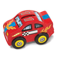 Melissa & Doug : Created by Me! Race Car Bank Craft Kit
