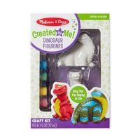 Melissa & Doug : Created by Me! Dinosaur Figurines Craft Kit