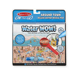 Melissa & Doug : Water Wow! Around Town Deluxe Water-Reveal Pad - On the Go Travel Activity