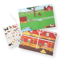 Melissa & Doug : Transfer Sticker Scenes - Around the Farm