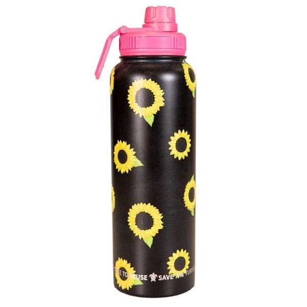 Simply Southern : 40oz Water Bottle in Sunflower