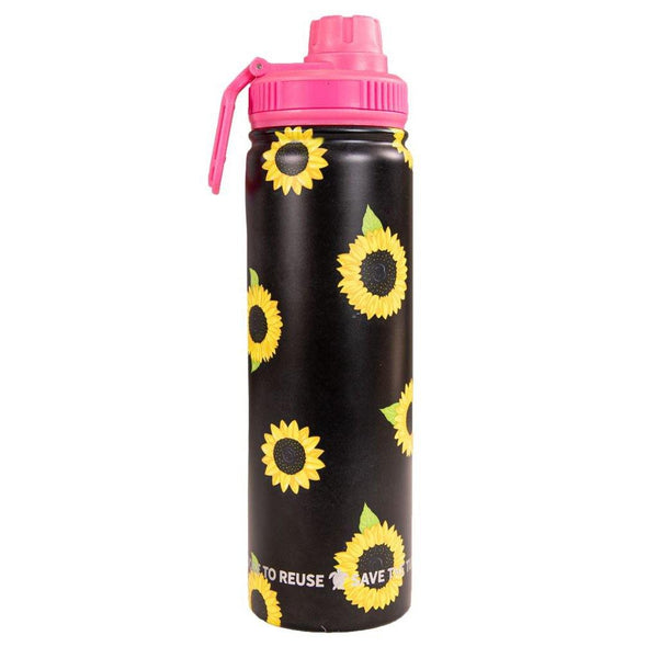 Simply Southern : 22oz Water Bottle in Sunflower