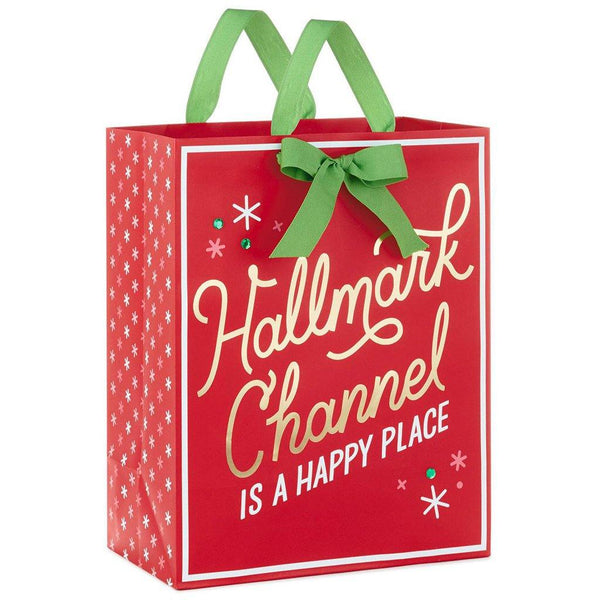 "Hallmark : 13"" Hallmark Channel Christmas Gift Bag"