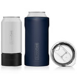 Brumate : Hopsulator Trio 3-In-1 | Matte Navy (16oz/12oz Cans)