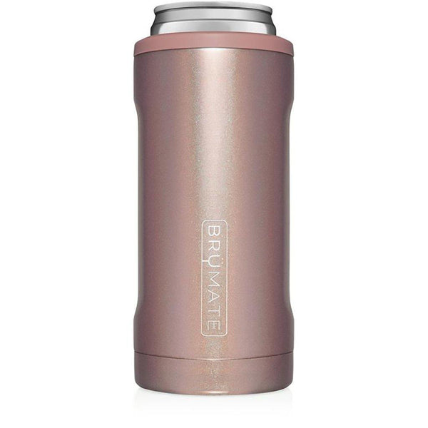 Brumate : Hopsulator Slim | Glitter Rose Gold (12oz Slim Cans)