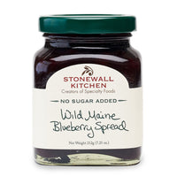 Stonewall Kitchen : Wild Maine Blueberry Spread - No Sugar Added