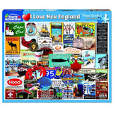 White Mountain : I Love New England- 1000 Piece Jigsaw Puzzle