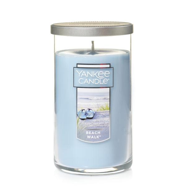 Beach Walk Medium 1-Wick Perfect Pillar Candle - Annie's Hallmark Baldoria