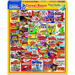 White Mountain : Cereal Boxes - 1000 Piece Jigsaw Puzzle