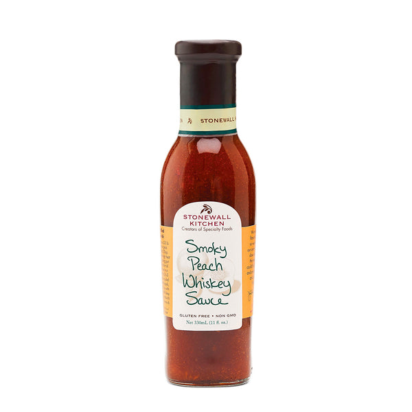 Stonewall Kitchen : Smoky Peach Whiskey Sauce