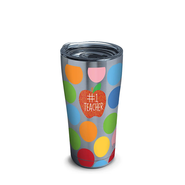 Tervis : Happy Everything! Stainless Steel Tumbler With Slider Lid - Teacher, 30oz