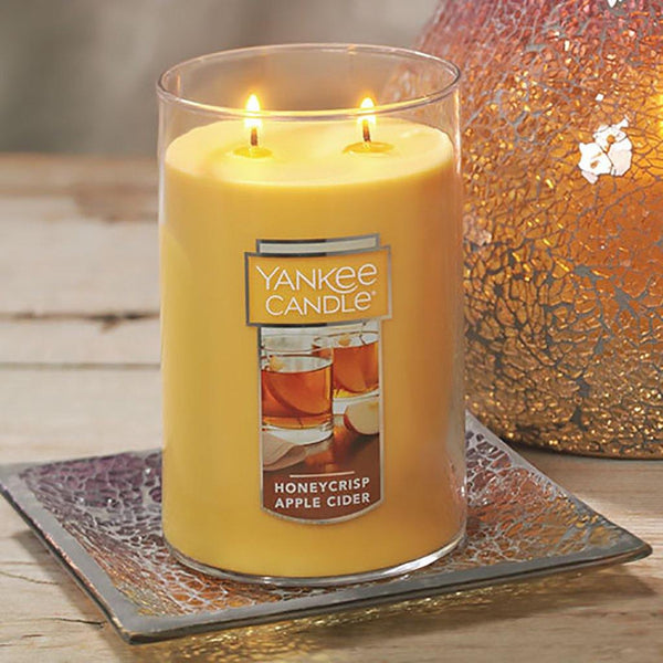 Yankee Candle :  Large 2-Wick Tumbler Candles in Honeycrisp Apple Cider