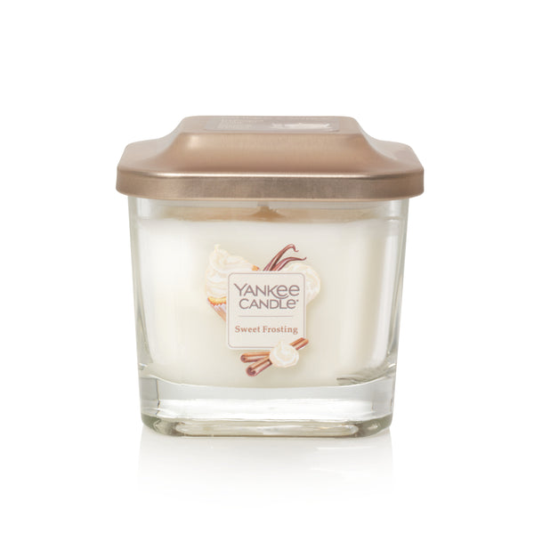 Yankee Candle : Elevation Collection in  Sweet Frosting (3 Asstd Sizes)