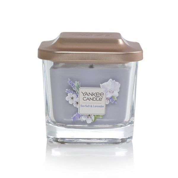 Yankee Candle : Small 1-Wick Square Candles in Sea Salt & Lavender - Annie's Hallmark & Gretchen's Hallmark, Sister Stores
