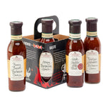 Stonewall Kitchen : Set-of-4 Grill Sauce Caddy