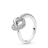 PANDORA : Knotted Heart Ring
