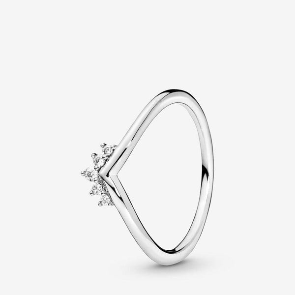 PANDORA : Tiara Wishbone Ring