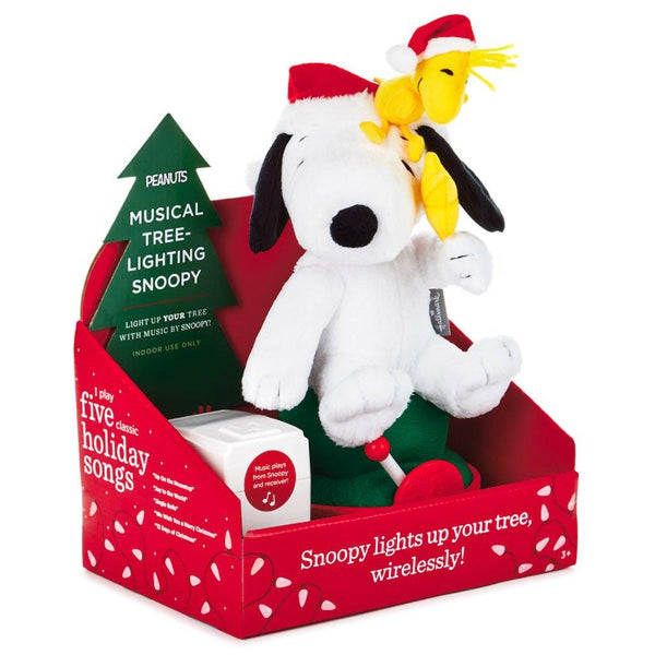 Hallmark : Peanuts® Musical Tree-Lighting Snoopy
