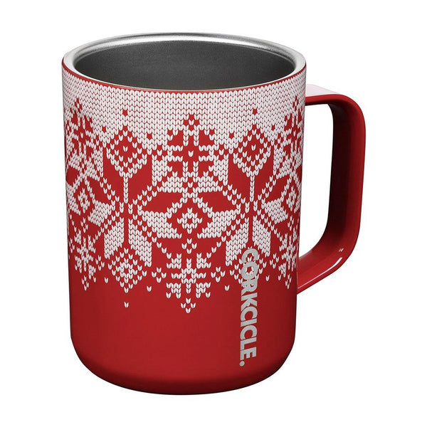 Corkcicle : Coffee Mug in Holiday-Hued Red