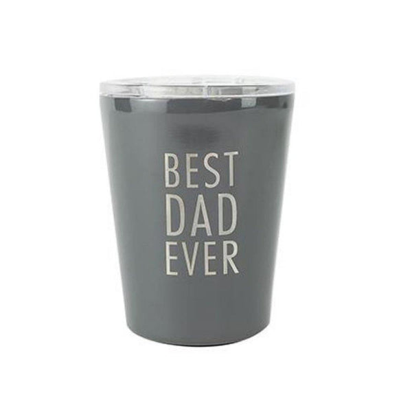 Stemless Coffee Tumbler with Lid - Best Dad Ever