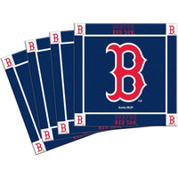 MLB Boston Red Sox 4-Pack Ceramic Coasters