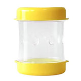 The Negg Hard-Boiled Egg Peeler in Yellow