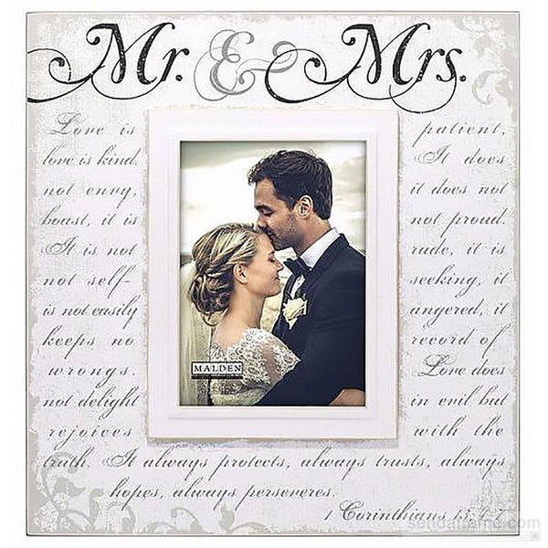 Malden : Mr. and Mrs. Corinthian script Frame