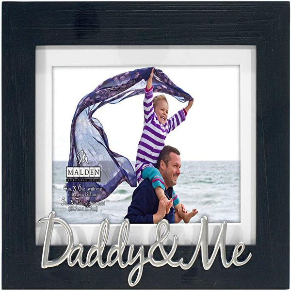 "Malden :  4 x 6 ""Daddy and Me""  Expressions Picture Frame"