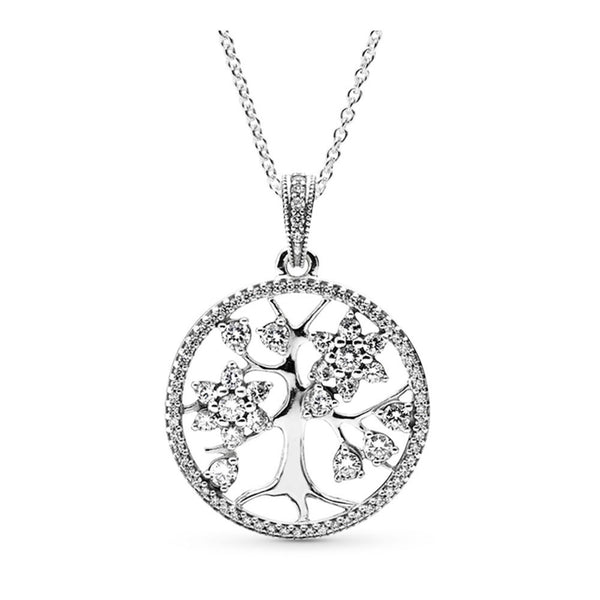 PANDORA : Family Tree Necklace Pendant