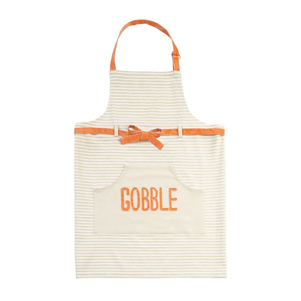 "Mud Pie : ""Gobble"" Apron"