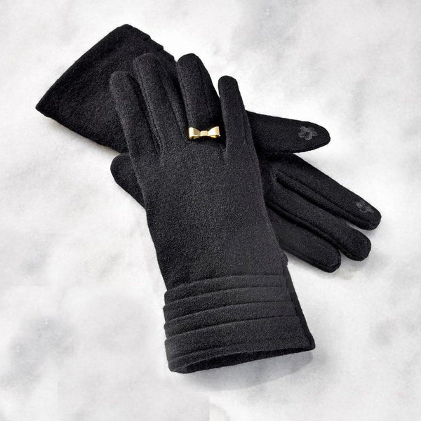 Giftcraft : Touchscreen Gloves in Black - Annie's Hallmark & Gretchen's Hallmark, Sister Stores