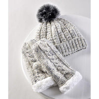 Gift Craft : Mixed Yarn Hat and Mitts Set