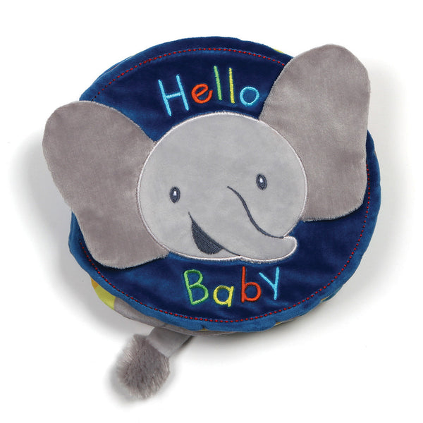 Gund : Flappy the Elephant Soft Book - Annie's Hallmark Baldoria