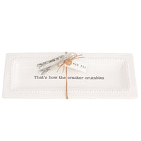 Cracker Tray & Tongs Set - Annie's Hallmark Baldoria