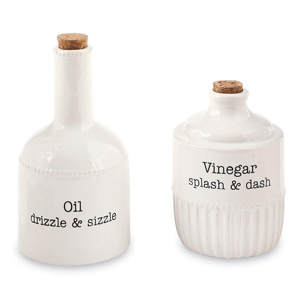 Mud Pie : Stacked Oil and Vinegar Set