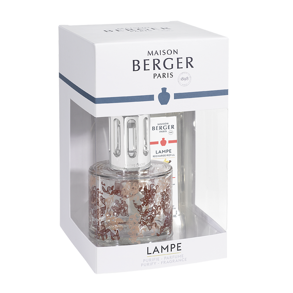 Lampe Berger : Pure Ribbon Lamp Gift Set with Vanilla Gourmet