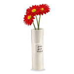 "Mud Pie : Ceramic ""You Got This"" Stem Vase"