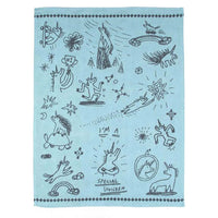 "Blue Q : Dish Towel - ""Special Unicorn"""